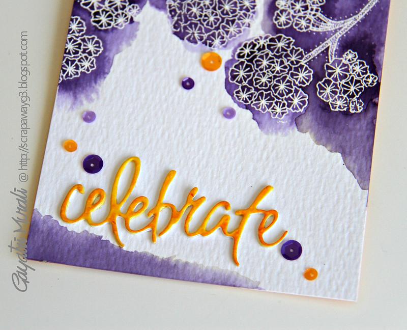 Celebrate closeup!