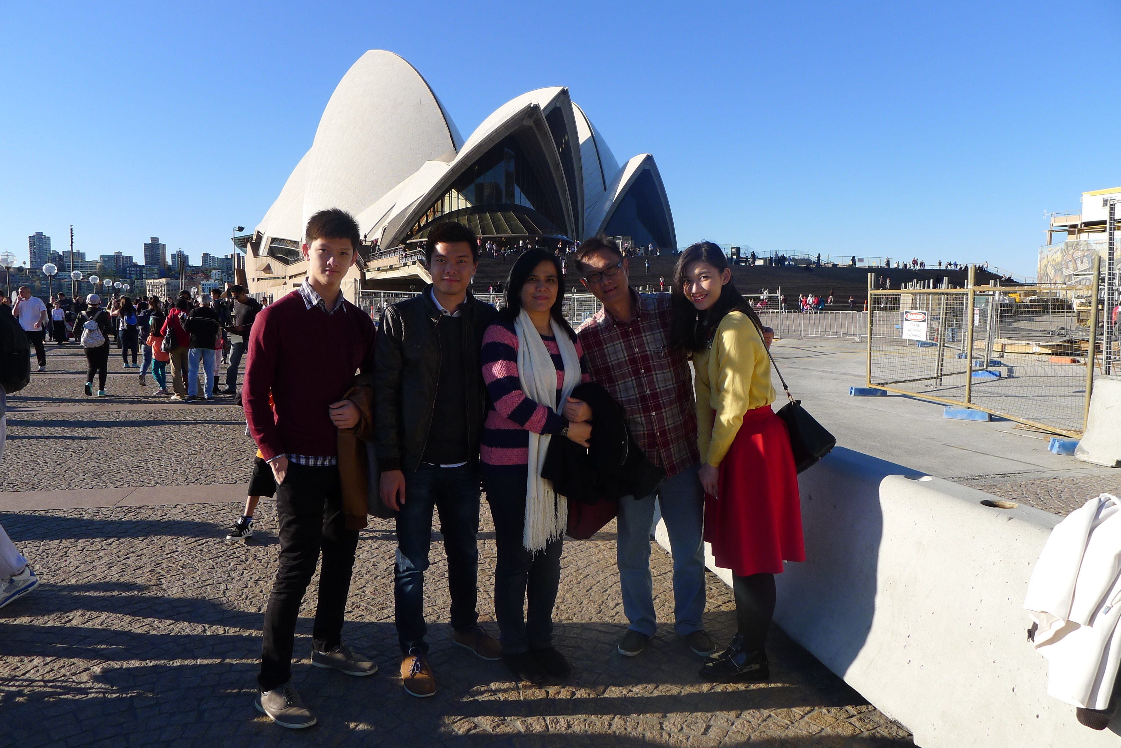 The great Sydney Opera House