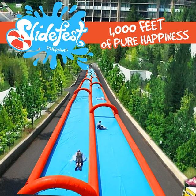 Slidefest Philippines| Get ready for 1000 ft of PURE HAPPINESS!