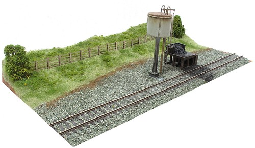 Water Tower diorama