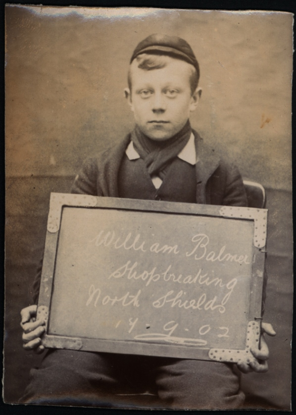 William Balmer, arrested for shopbreaking