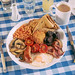 Full English Breakfast from Seven Bees at Saint Georges by lomokev