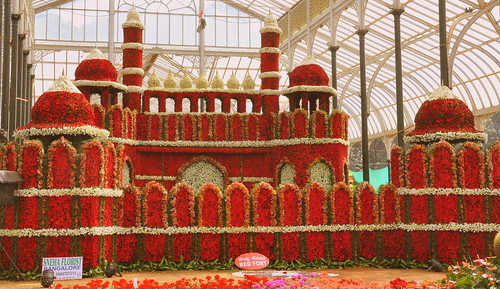 Red Fort of Red Roses