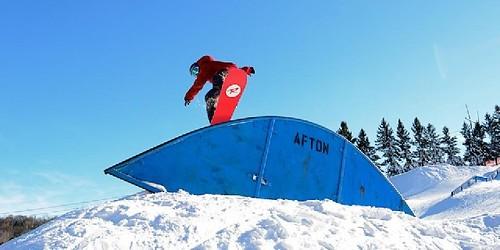 Aston Alps snowboarding