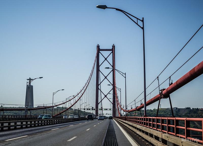 Ponte del 25 Aprile a Lisbona