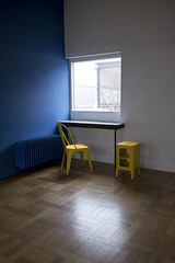 Villa Savoye de Le Corbusier / Exposition Tolix Couleurs inoxydables