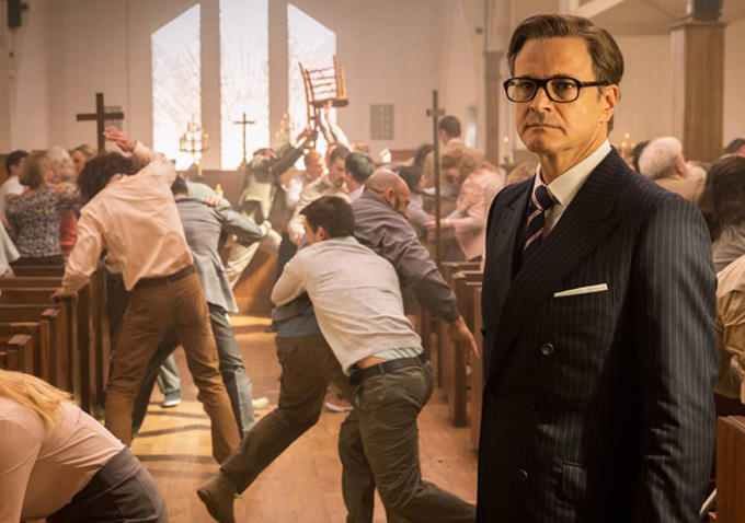 Colin Firth is just another gentleman spy in KINGSMAN: THE SECRET SERVICE.