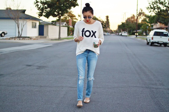 wildfox,basic ootd,tory burch,tory burch reva flats,shopbop,ymi jeans,zerouv,lucky magazine contributor,fashion blogger,WannaBettaButt,lovefashionlivelife,joann doan,style blogger,stylist,what i wore,my style,fashion diaries,outfit,street style