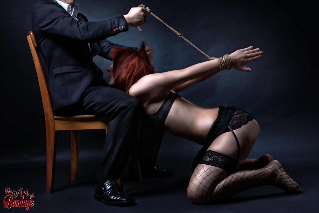 Girl on girl bondage domination
