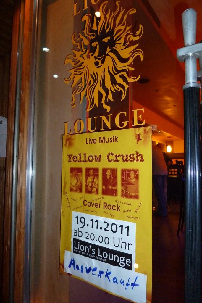 Auftritt 2011-11-19 Sonsbeck Lion's Lounge