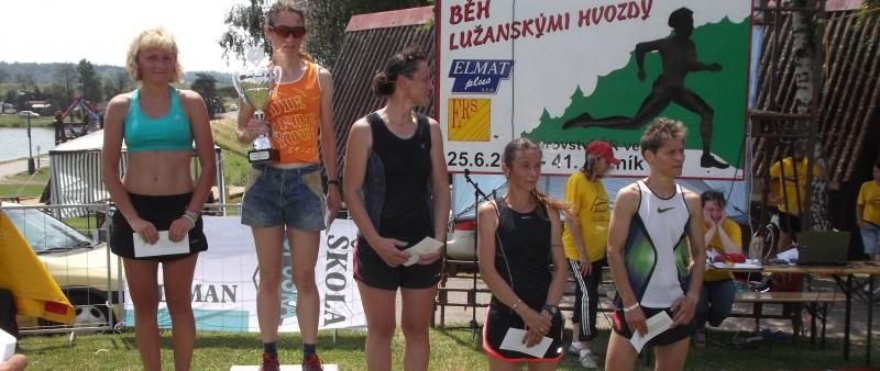 Šampionát v Lužanských hvozdech vyhrál po nabitém dnu Čivrný a Kynčlová