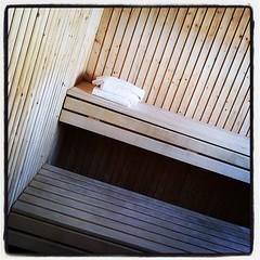Alltså, nästa gång jag bor här får det allt vara mer vinter! #sauna