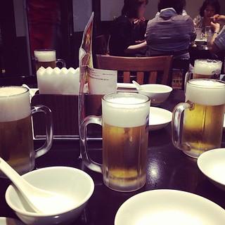 昼間から開宴(^^)