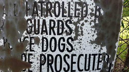 Patrolled Guards Dogs Prosecuted