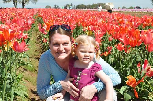 Tulips with Mama