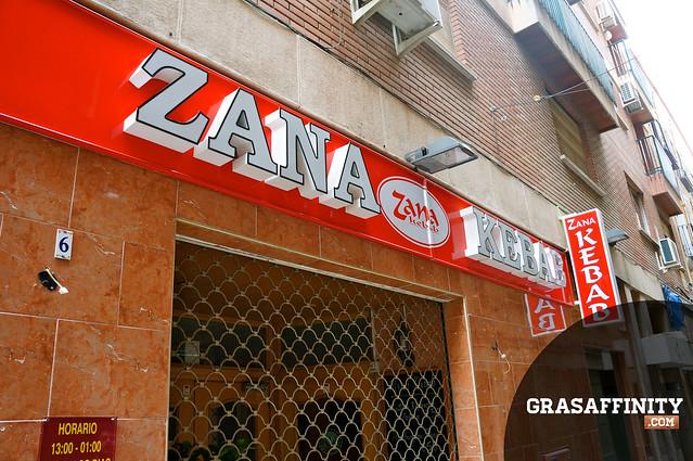 El Kebab del Romea Murcia (zana kebab)