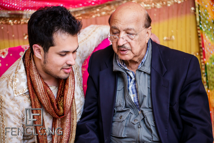 Groom and uncle