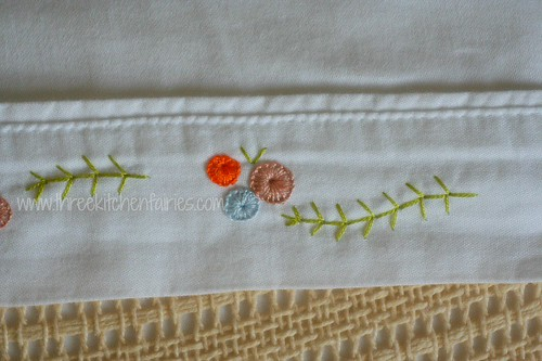 Buttonhole wheels, and Fern stitch.