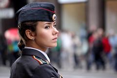 Russian police girl III