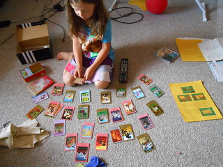 Alphabetizing Bella Sara Cards