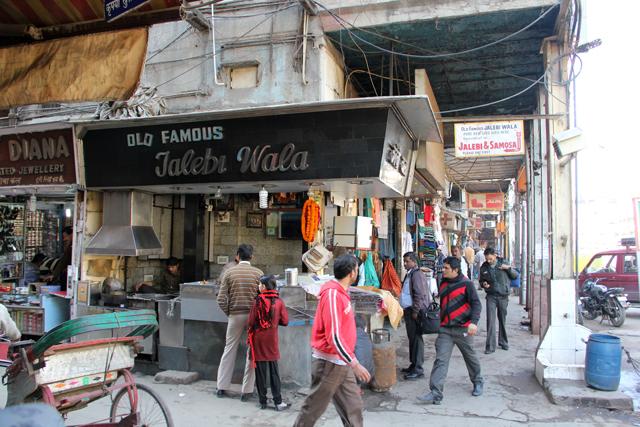 Old Famous Jalebi Wala in Delhi, India