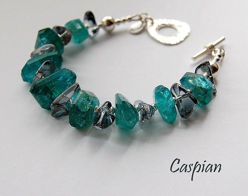 Caspian Bracelet by gemwaithnia