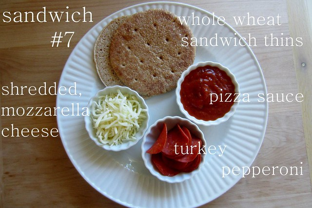 sandwich #7: pizza sandwich