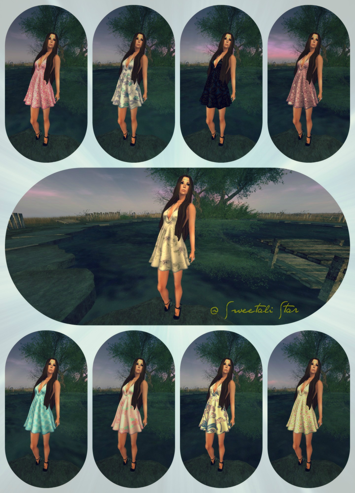 Fixati0nz - Halter dress feat 7 deadly skins -myrthe V2