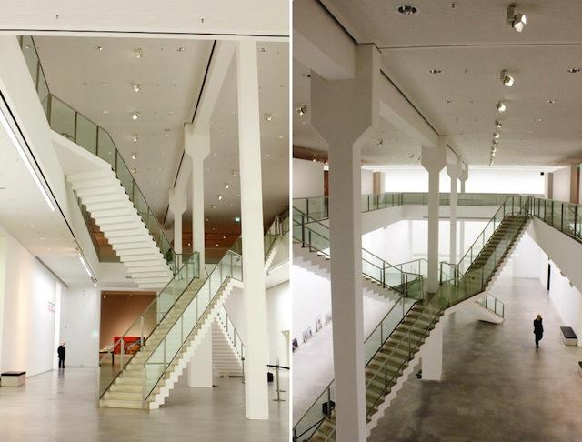 Berlinische Galerie architecture stairs