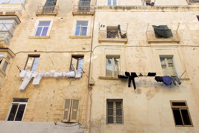 Black & White - Valletta House