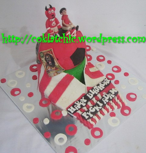 Cake Manchester united dan animal kaiser