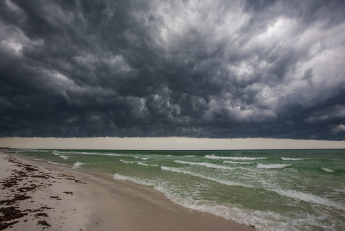 storm beach clouds day waves cloudy sandfloridastorm