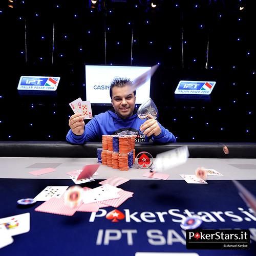 Nicola Sasso, capofila del poker pugliese