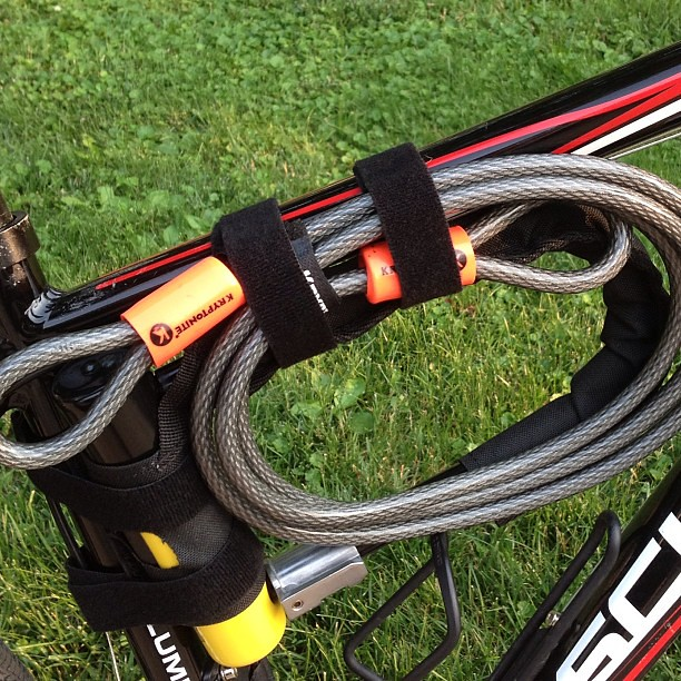 Strap your U-lock to anything with our new case #bike #madeinusa