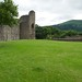 Small photo of Decent view, Abergavenny Castle