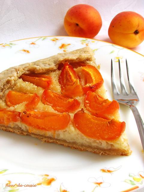 галета абрикосовая с миндальным кремом 2