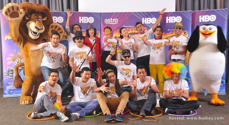 HBO Madagascar 3