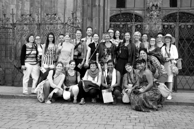 Spa(t)ziergang durch Ulm - Erstes Bloggertreffen in Ulm...denn wenn Engel reisen, dann...foto group