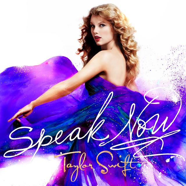 Speak Now cover - Blue/Violet