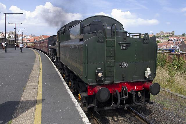 "NYMR Steam Engine 75029 ""The Green Knight"""