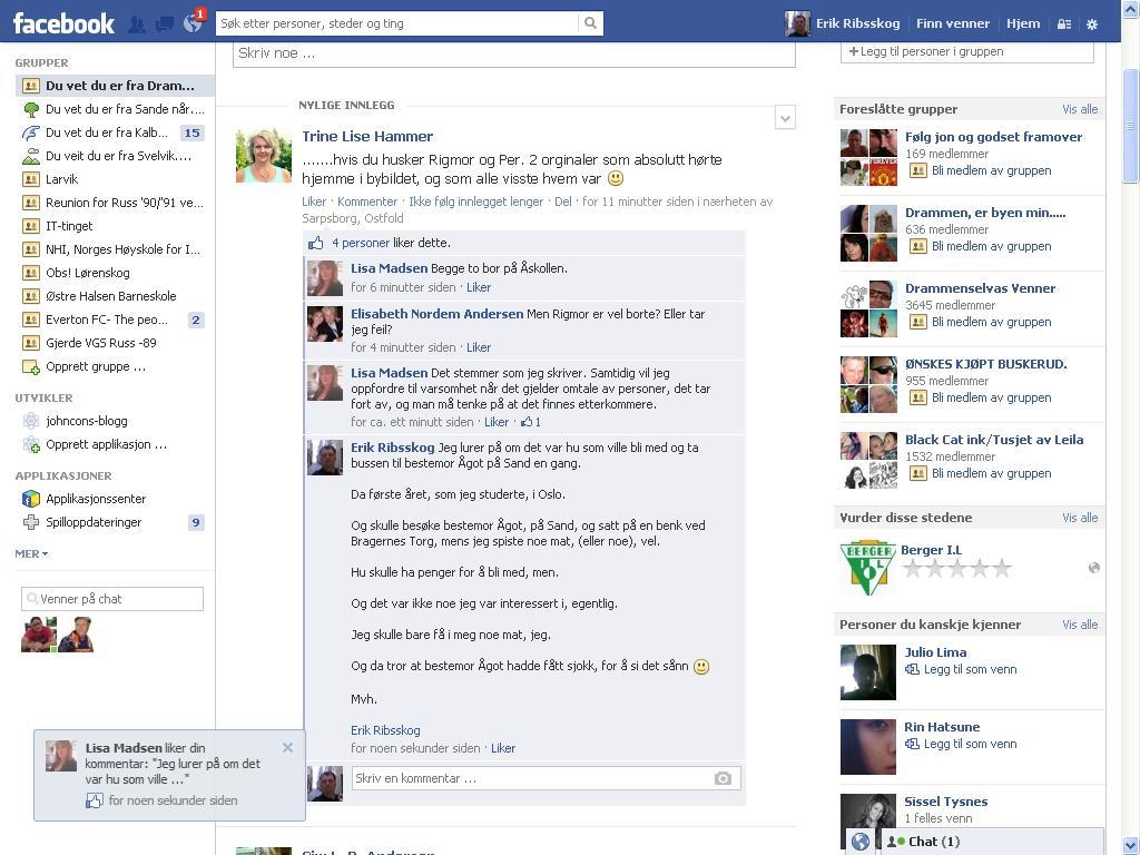 mer fra facebook drammen