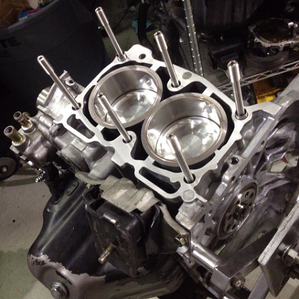 AWD Sleeved Stage 4 #EJ257 shortblock with #DartonSleeves