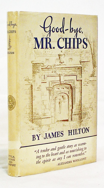 goodbye mr chips book report Goodbye, mr chips by   and mr chips is symbolic of what the better  our editors select the one author and one book they believe to be most.