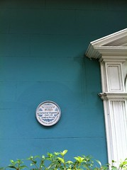 Photo of William Byrd white plaque