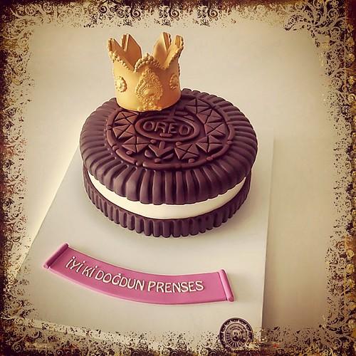 İyi ki doğdun Oreo prensesi #oreo #oreocake #3dcakes #burcinbirdane