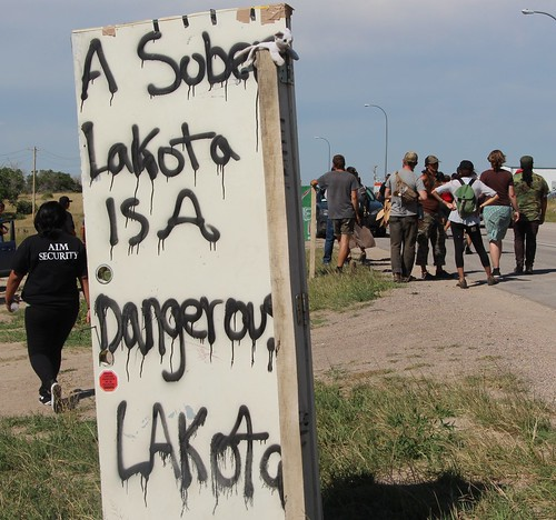 A sober Lakota is a dangerous Lakota
