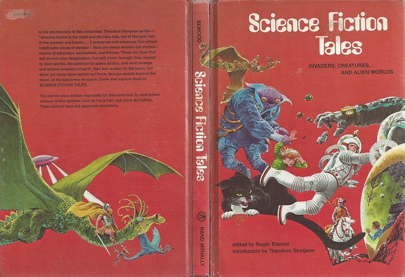 "Rod Ruth - Front And Back Cover For ""Science Fiction Tales"" by Roger Elwood, 1973"