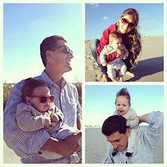 #hudsonbibs sure loves #capemay! Really enjoying family time after that amazing campaign. #ken2013