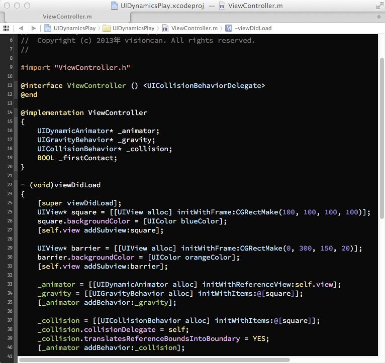 Xcode-theme