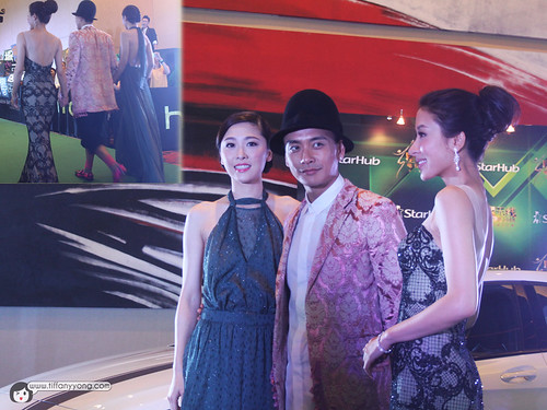 Bosco Wong 黃宗澤, Niki Chow 周丽淇 and Tavia Yeung 杨怡